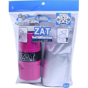 ZAT抗菌クラスターゲル12個+自然式拡散器セットピンク