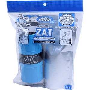 ZAT抗菌クラスターゲル12個+自然式拡散器セットブルー