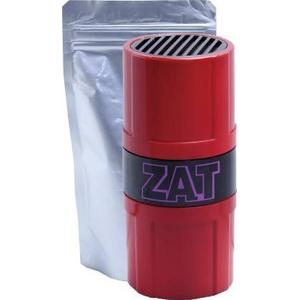 ZAT抗菌クラスターゲル 12個  +  自然式拡散器セット レッド