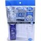 ZAT抗菌デザインマスク + 抗菌スプレー ×3個セット 【大人用 ダブルガーゼ ホワイト】 - 縮小画像1