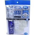 ZAT抗菌デザインマスク + 抗菌スプレー ×3個セット 【大人用 リボン】