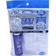 ZAT抗菌デザインマスク + 抗菌スプレー ×12個セット 【大人用 ドット ブルー】