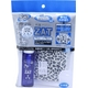 ZAT抗菌デザインマスク + 抗菌スプレー ×3個セット 【大人用 ヒョウ柄】 - 縮小画像1