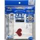 ZAT抗菌デザインマスク + 抗菌コットン×6個セット 【大人用】ハート レッド/白
