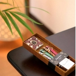 お香/お香立てセット 【フルーツ系 スティックタイプ】 バリ島製 「Jupen Bari/ジュプンバリ」