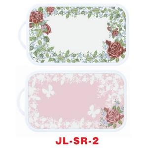 リバーシブル抗菌まな板 JL-SR-2 ジュリア (まな板スタンド・メジャー付まな板シート付) - 拡大画像