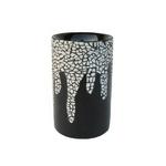 小物入れ 【あひるの卵殻模様×漆塗り】 木製 PH-H11 〔工芸品 ハンドクラフト インテリア雑貨〕
