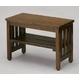 木製ベンチ エントランスベンチ(小) ブラウン - 縮小画像1
