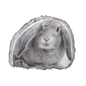 アニマル柄クッション/インテリア雑貨 【ウサギ】 ANI-401A - 拡大画像