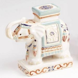 インド象の置物 象プランター台  L-008 - 拡大画像