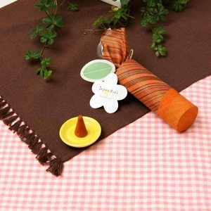 お香/インセンス【サンダルウッドの香りコーンタイプ10個入り】バリ島製「JupenBari/ジュプンバリ」