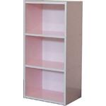 カラーボックス PA 45-3 ピンク/4989088112958