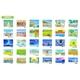 デジタルフォトフレーム専用ソフト「水彩画・栗乃木ハルミ」30枚セット 写真2