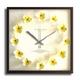 《掛時計》Plumeria Clock Yellow(プルメリアクロック/イエロー) 写真1