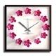 風景専門店あゆわら 《掛時計》Plumeria Clock Pink(プルメリアクロック/ピンク) - 縮小画像1