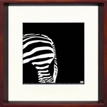 風景専門店あゆわら 《アートフレーム》Zebra(シマウマ)/ヤスカワ トシアキ
