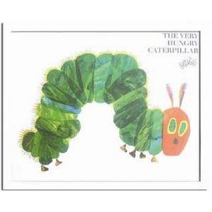 《エリック・カール》Eric Carle はらぺこあおむし(A Very Hungry Caterpillar)