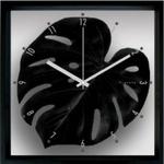 F-style Clock Monstera deliciosa / Black (モンステラ・デリシオサ)