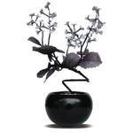風景専門店あゆわら 《人工観葉植物・造花》F-style Vase Shiso(シソ)