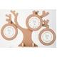 風景専門店あゆわら 木製ツリーラウンド フォトフレーム 3ウィンドー NATURAL - 縮小画像1