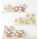 風景専門店あゆわら 木製ツリーラウンド フォトフレーム 3ウィンドー NATURAL - 縮小画像2