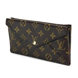 Louis Vuitton(ルイヴィトン) モノグラム ポルトフォイユ・オリガミ ロン M40487 ダークブラウン 財布 - 拡大画像