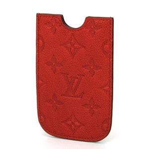 Louis Vuitton(ルイヴィトン) モノグラム IPHONE4、4S ソフト M60367 スマートフォンケース ユニセックス オレンジ iphone ケース - 拡大画像