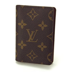 Louis Vuitton(ルイヴィトン) モノグラム オーガナイザー・ドゥポッシュ M60502 カードケース メンズ ダークブラウン - 拡大画像