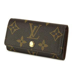 Louis Vuitton(ルイヴィトン) モノグラム 4連 ミュルティクレ4 M62631 キーケース ユニセックス ダークブラウン - 拡大画像