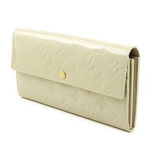 Louis Vuitton(ルイヴィトン) モノグラム・ヴェルニ ポルト コライユ サラ M91466 長財布 レディース ホワイト - 拡大画像