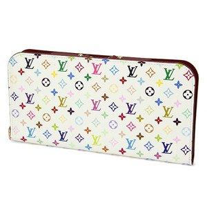 Louis Vuitton(ルイヴィトン) モノグラム・マルチカラー ポルトフォイユ アンソリット M93752 長財布 レディース ホワイト×ピンク - 拡大画像