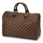 Louis Vuitton(ルイヴィトン) ダミエ スピーディ バンドリエール35 N41182 ハンドバッグ レディース ダークブラウン