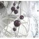 ルビー&水晶 ブレスレット・ピアスセット - 縮小画像1