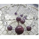 ルビー&水晶 ブレスレット・ピアスセット - 縮小画像6