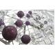 ルビー&水晶 ブレスレット・イヤリングセット - 縮小画像3