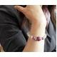 ルビー&水晶 ブレスレット・イヤリングセット - 縮小画像5