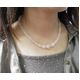 ローズクォーツボタンカットネックレス&ブレス - 縮小画像5