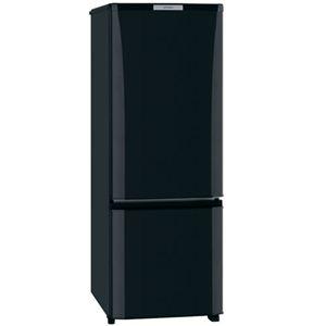 三菱(MITSUBISHI) 冷蔵庫 168L(サファイアブラック) MR-P17S(B)
