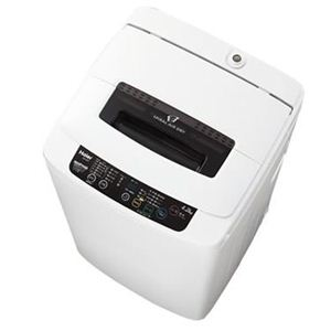 Haier(ハイアール) 全自動洗濯機 4.2Kg ブラック JW-K42FK 風乾燥機能搭載 - 拡大画像