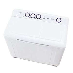 Haier(ハイアール) 二槽式洗濯機 12.0kg ホワイト JW-W120AW 終了ブザー付 - 拡大画像