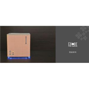 Apix(アピックス) スチーム式アロマ加湿器 CUBE AHD-031-PK ピンク(PK)