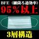 サージカルマスク 3層構造 【1箱50枚入×40箱セット】 使い捨て マスク BFE95%以上 日本語表記パッケージで安心 写真2