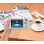 4インチポータブル防水地上デジタル液晶テレビ VL-J405PW