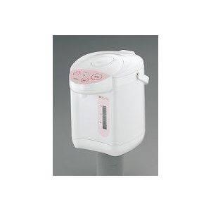 電動ポット 再沸騰ボタン付き 【電動だから指一本でかんたん給湯】 容量2.2L 水位表示付き ツインバード TP-4491 ピンク