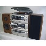 創和(SOWA)3CD マルチコンポ レコードプレイヤー ステレオダブルカセットRW-55M rw-55m