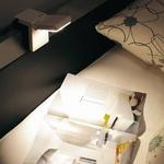 TWINBIRD(ツインバード) 安心LED光源の読書灯 LE-H222BR LEDベッドライト ブラウン