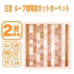 三京 電気ホットカーペット HT-20-8L 2畳用【ダニ退治機能付】