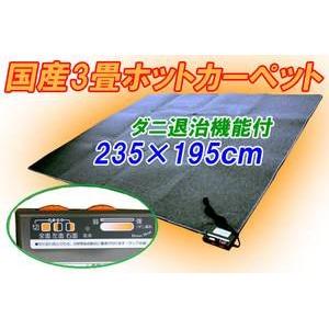 三京 電気ホットカーペット 3畳用 HT-30 ダニ退治機能付