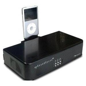 Nakamichi(ナカミチ) サブウーファー内蔵 iPod対応スピーカー mySoundSpace MkII ブラック - 拡大画像