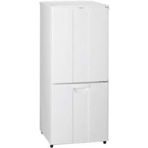 Haier 2ドア冷凍冷蔵庫138Lファン式ノンフロン設計 JR-NF140A/W